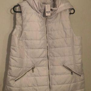 New York & company puff vest